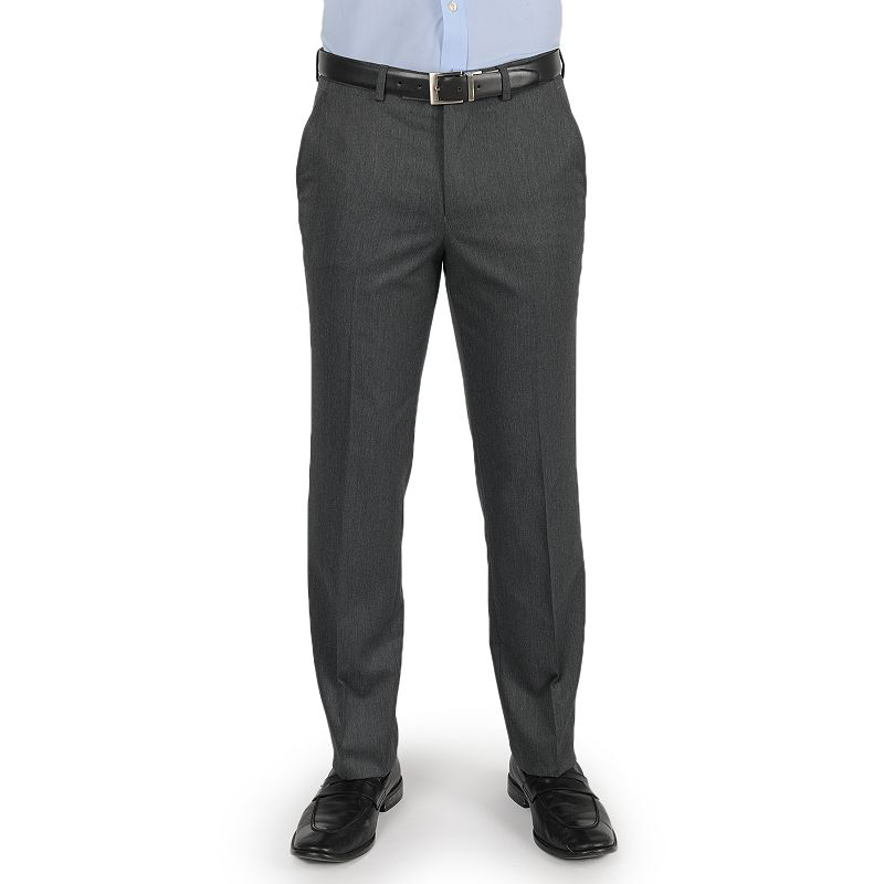 Men's Dockers Performance Cross Dye Straight-Fit Herringbone Dress Pants