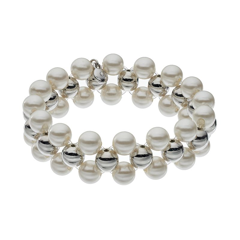 Croft & Barrow® Multirow Stretch Bracelet
