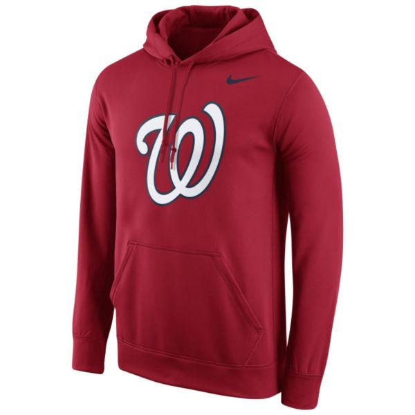 Men's Nike Washington Nationals Therma-FIT Pullover Hoodie
