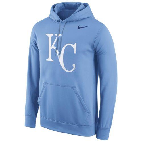 Men's Nike Kansas City Royals Therma-FIT Pullover Hoodie