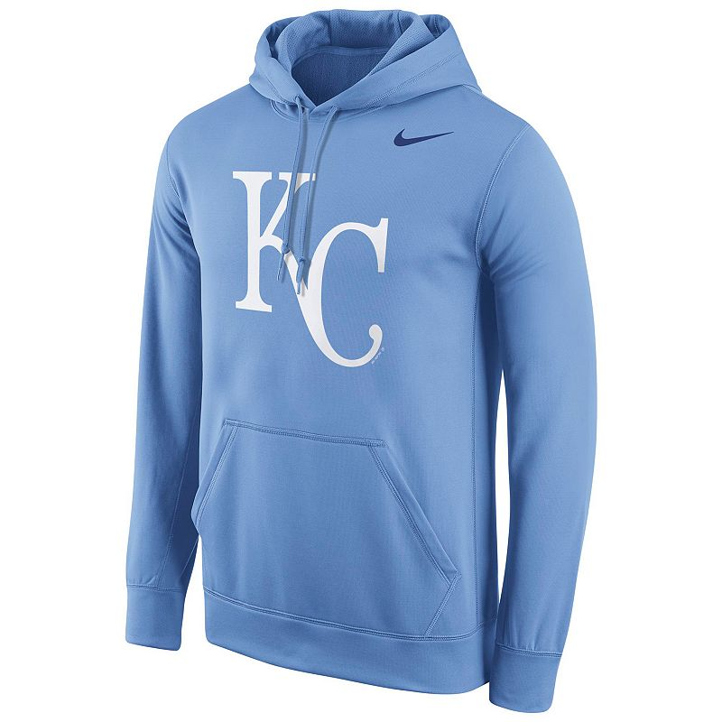 Men's Nike Kansas City Royals Therma-FIT Pullover Hoodie