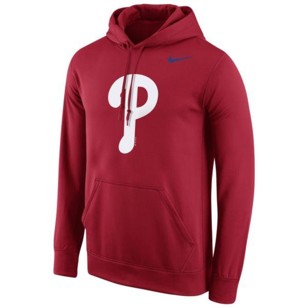 Men's Nike Philadelphia Phillies Therma-FIT Pullover Hoodie