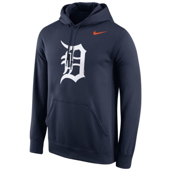 Men's Nike Detroit Tigers Therma-FIT Pullover Hoodie