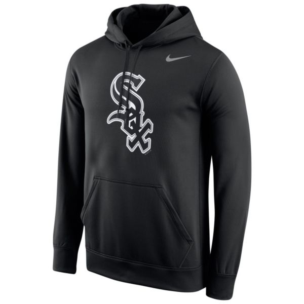 Men's Nike Chicago White Sox Therma-FIT Pullover Hoodie