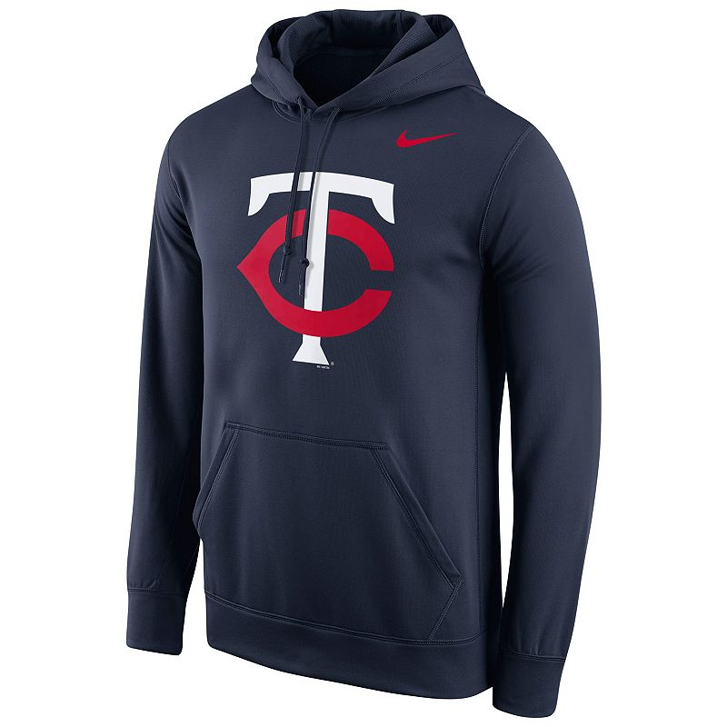 Men's Nike Minnesota Twins Therma-FIT Pullover Hoodie