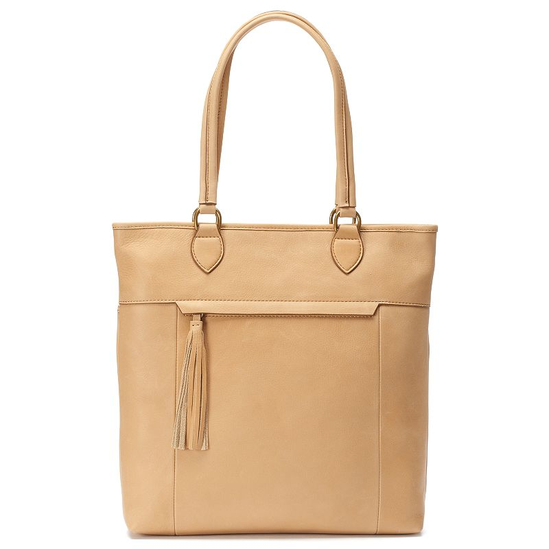 Leather North Shore Tote
