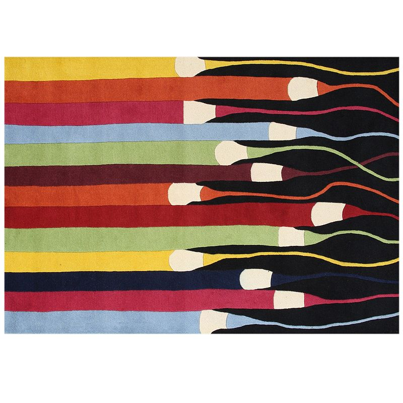 Alliyah Rugs ZnZ Color Wool Rug