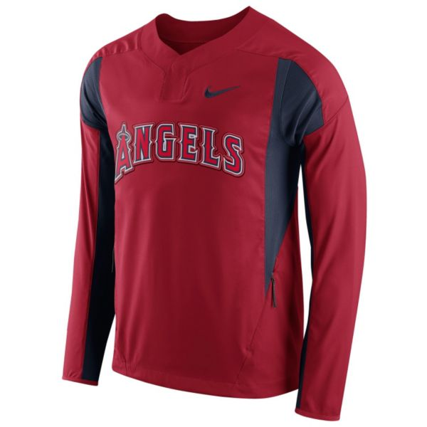 Men's Nike Los Angeles Angels of Anaheim Windbreaker Pullover