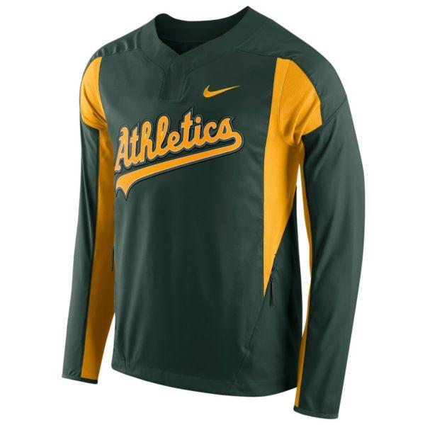 Men's Nike Oakland Athletics Windbreaker Pullover