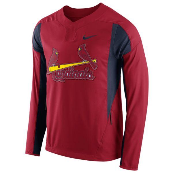 Men's Nike St. Louis Cardinals Windbreaker Pullover