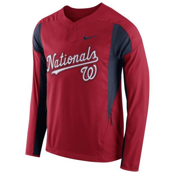 Men's Nike Washington Nationals Windbreaker Pullover
