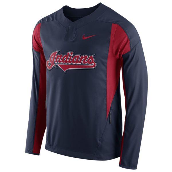 Men's Nike Cleveland Indians Windbreaker Pullover