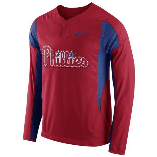 Men's Nike Philadelphia Phillies Windbreaker Pullover