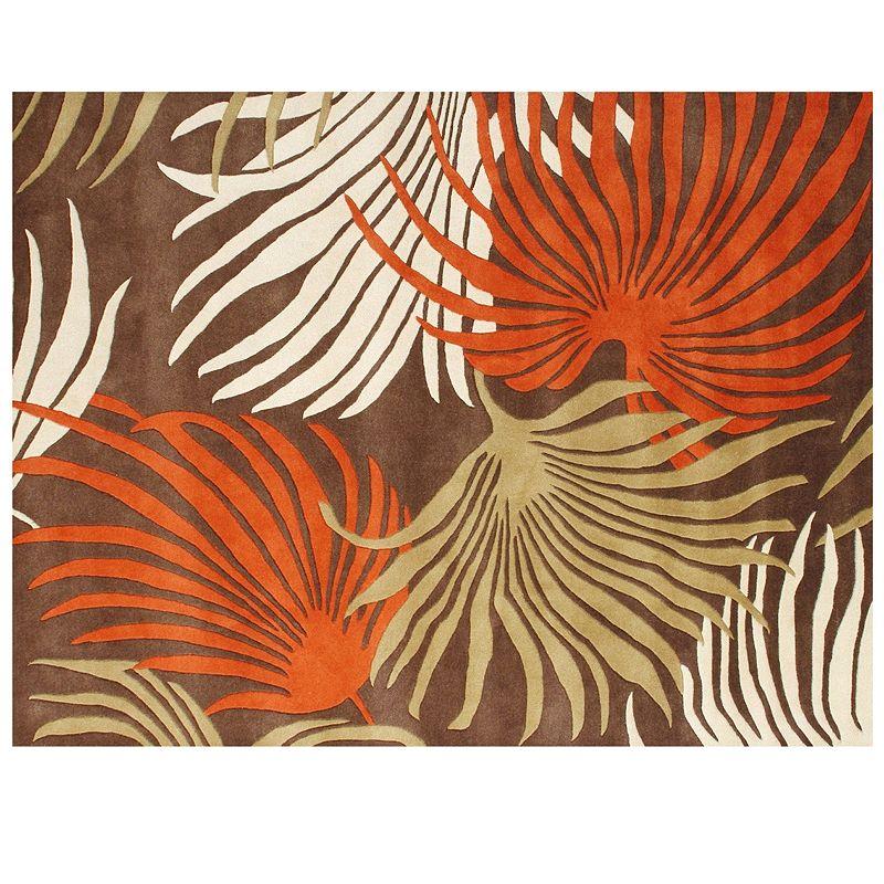 Alliyah Rugs ZnZ Palm Leaf Wool Rug