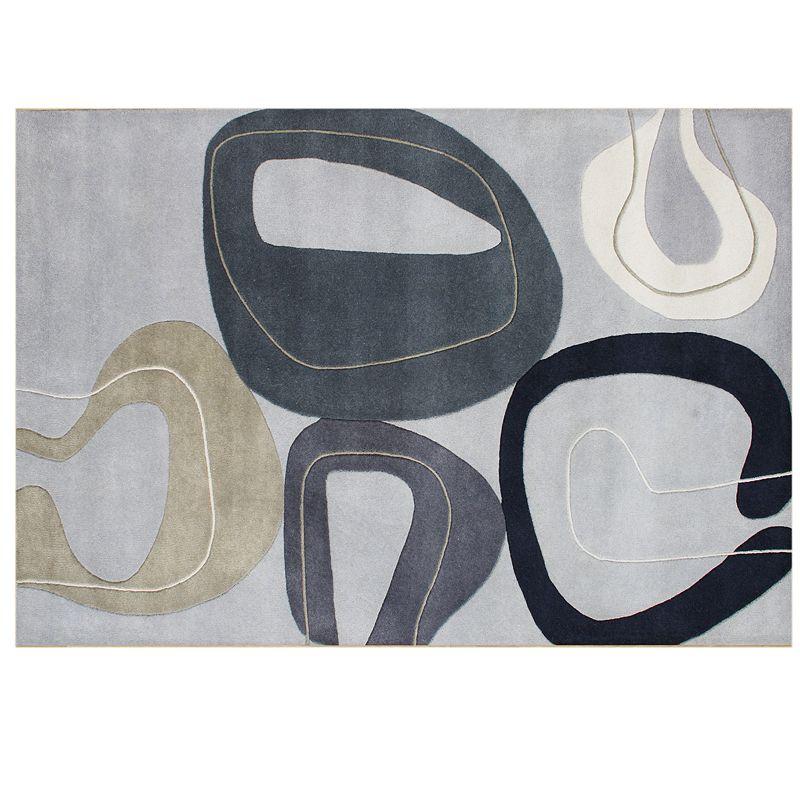 Alliyah Rugs ZnZ Abstract Wool Rug