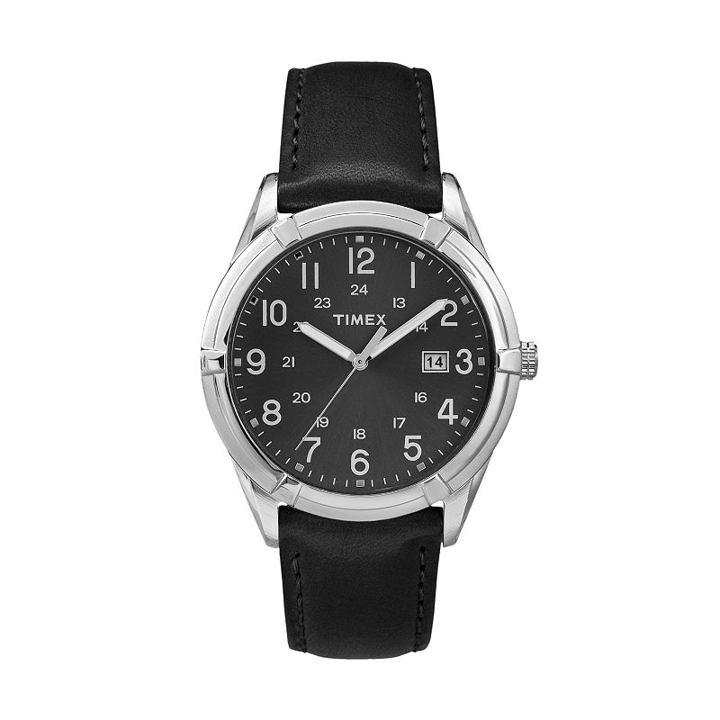 Timex Men's Easton Avenue Leather Watch - TW2P76700JT