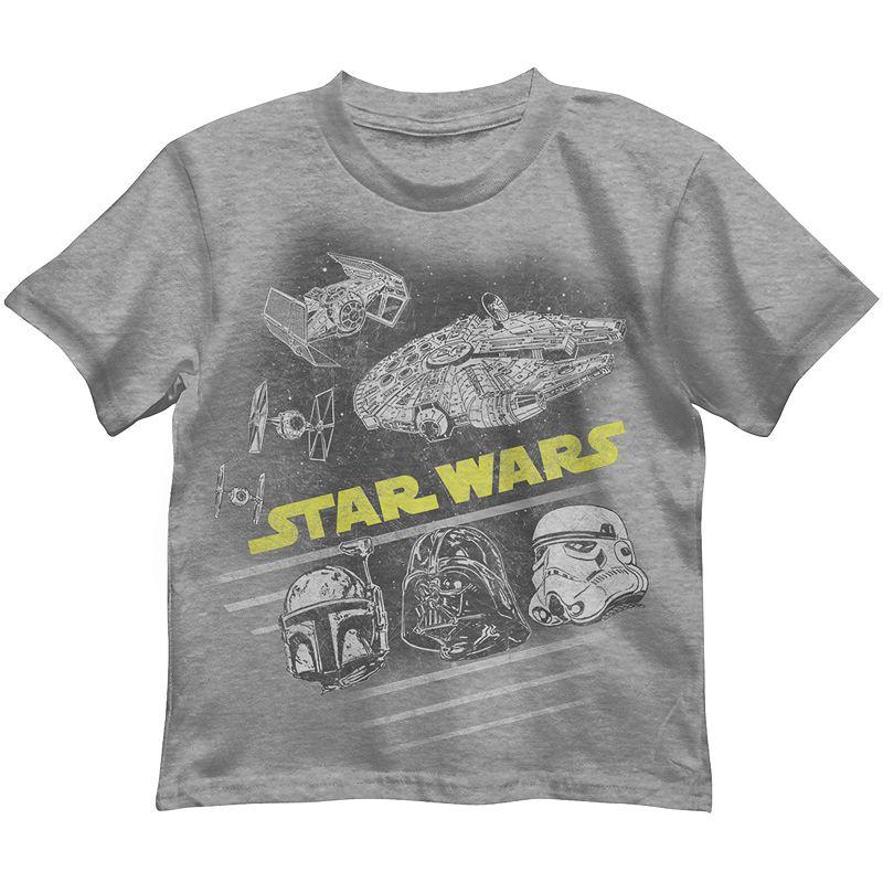 Star Wars Faded Tee - Boys 4-7