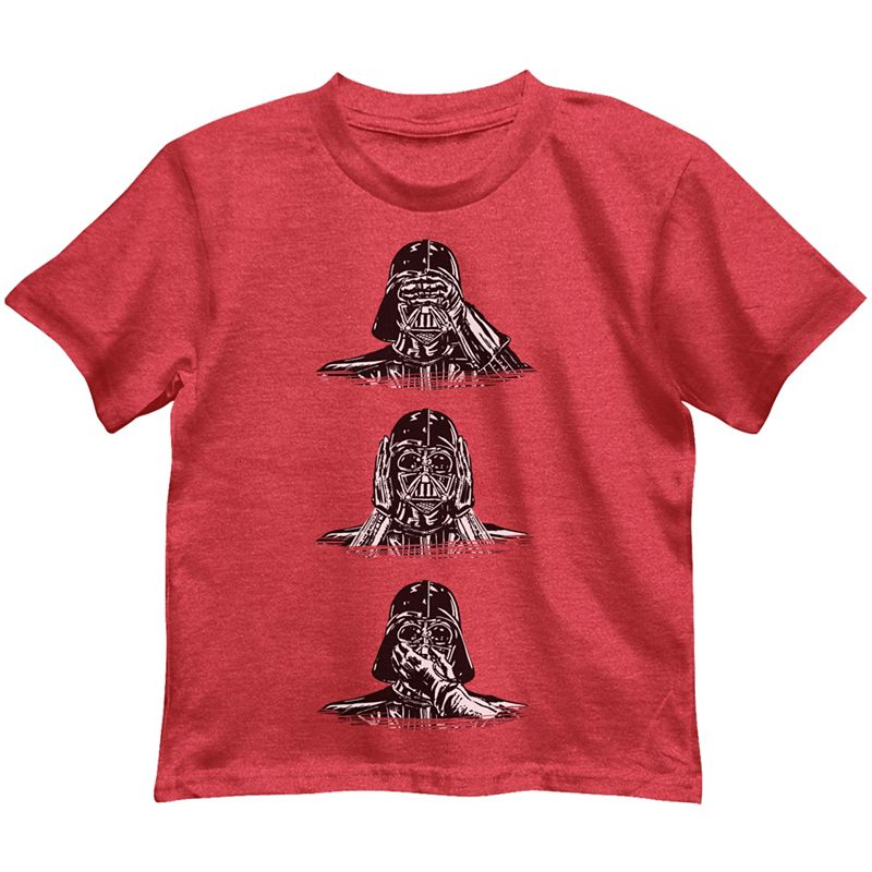 Toddler Boy Star Wars Darth Vader See No Evil Tee