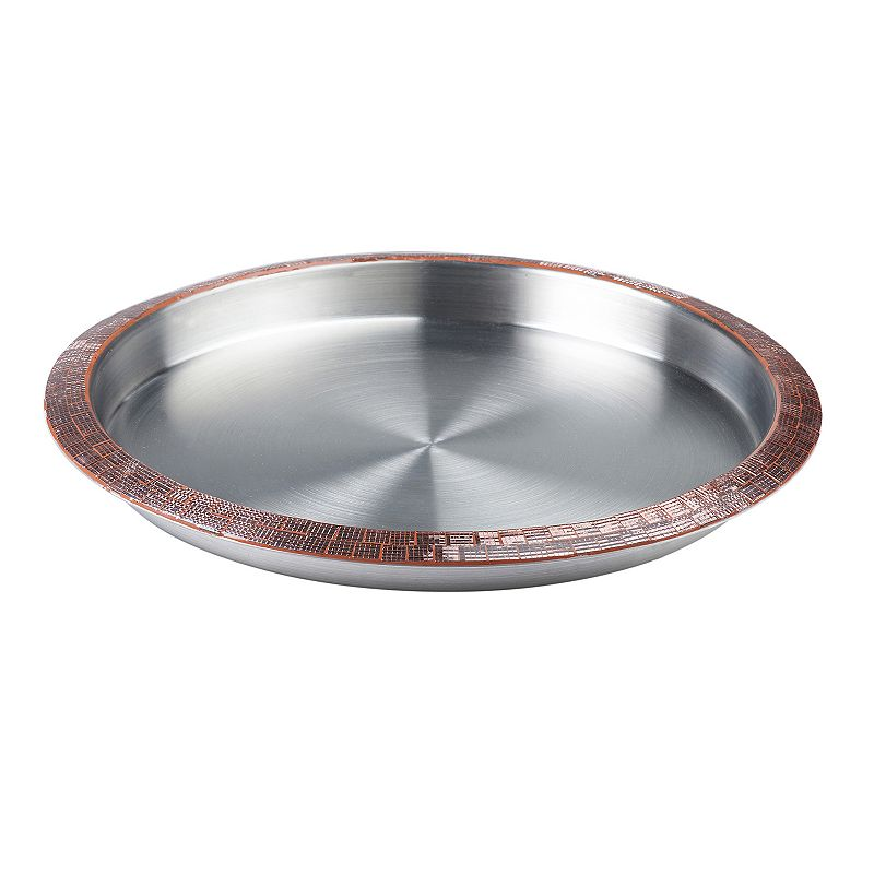 Global Amici Monroe 16.5-in. Round Serving Tray