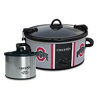 Crock-Pot Cook & Carry Ohio State Buckeyes 6-Quart Slow Cooker Set