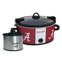 Crock-Pot Cook & Carry Alabama Crimson Tide 6-Quart Slow Cooker Set