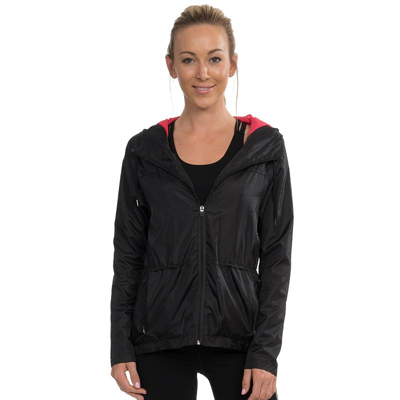 Women's Colosseum GoGo Hooded Workout Jacket