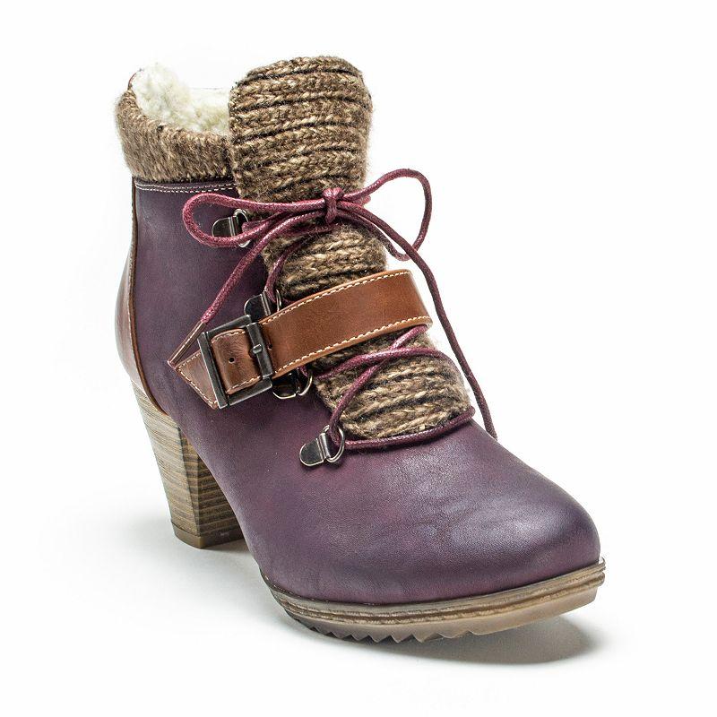 MUK LUKS Leah Women's Ankle Boots