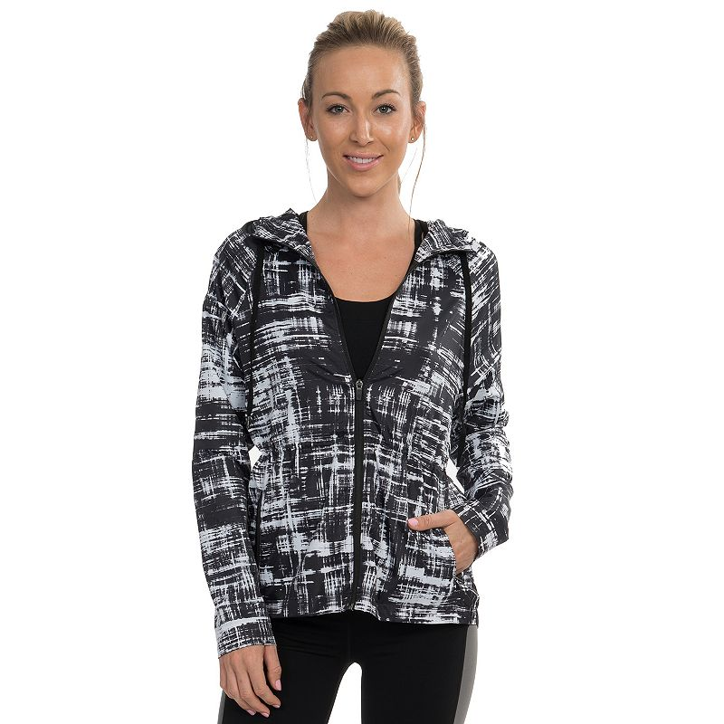 Colosseum GoGo Hooded Printed Workout Jacket - Women's