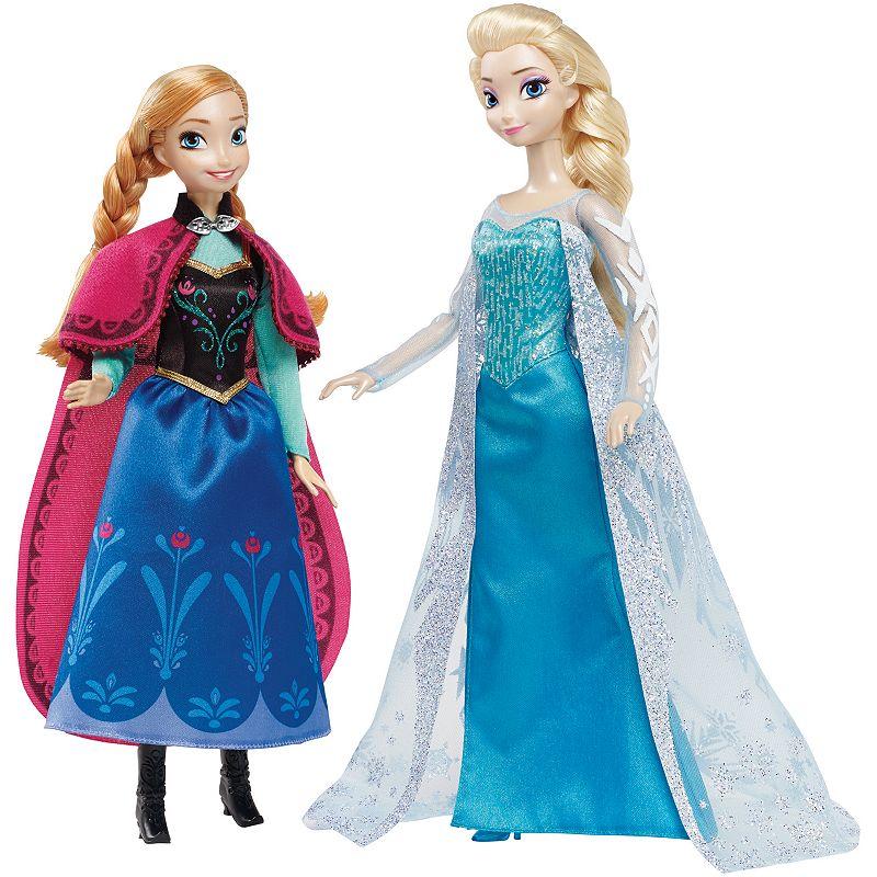 Disney's Frozen Signature Anna & Elsa Dolls