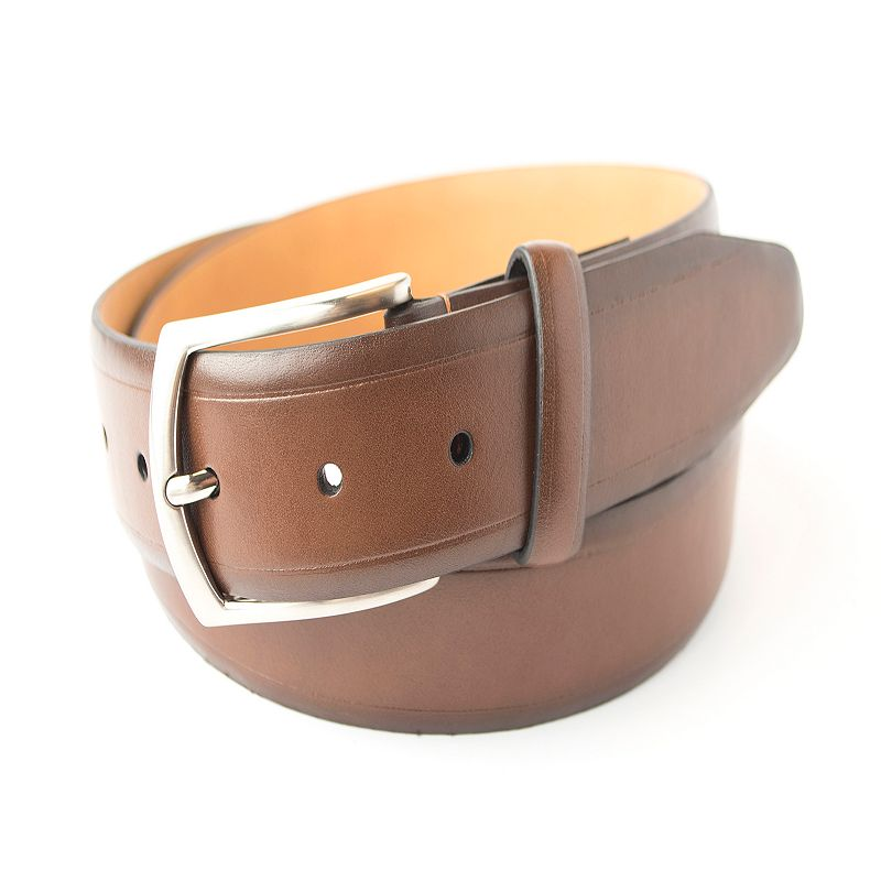 Men's Croft & Barrow® Stitched Heather Crease Casual Belt