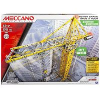 Meccano Automated Tower Crane Set