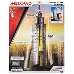 Meccano Empire State Building 2-in-1 Model Set by