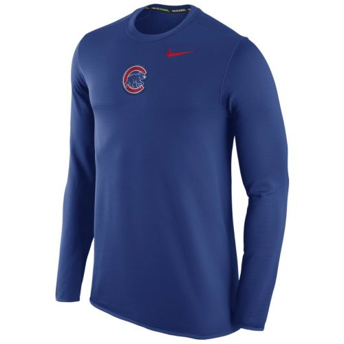 Men's Nike Chicago Cubs Waffle Thermal Tee