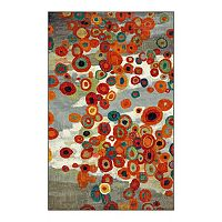 Mohawk® Home Tossed Floral Abstract Indoor Outdoor Rug