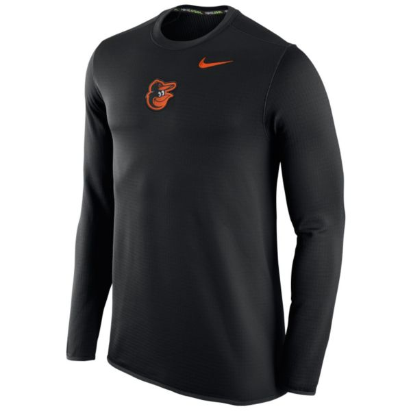 Men's Nike Baltimore Orioles Waffle Thermal Tee