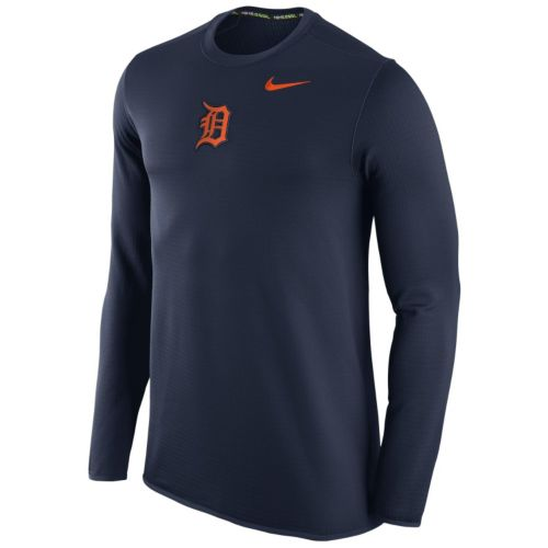 Men's Nike Detroit Tigers Waffle Thermal Tee