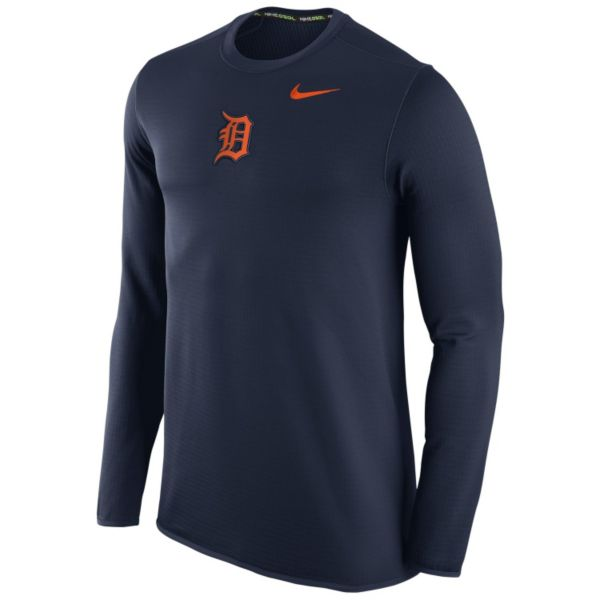 Men's Nike Detroit Tigers Waffle Thermal Tee
