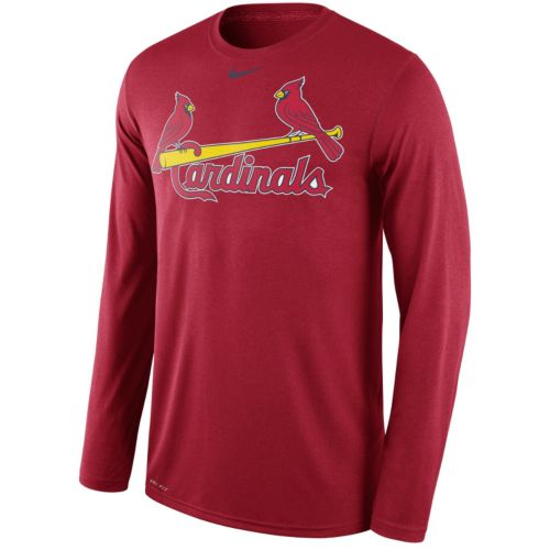 Men's Nike St. Louis Cardinals Wordmark Dri-FIT Legend Tee