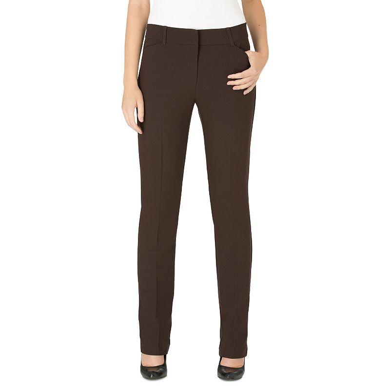 Women's Haggar® Favorite Fit Twill Straight-Leg Pants