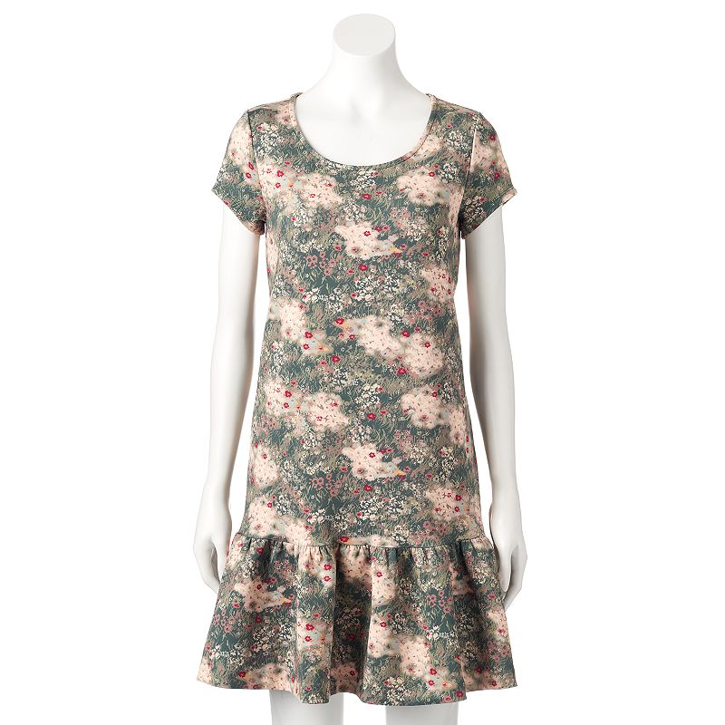 Disney's Bambi a Collection by LC Lauren Conrad Women's Floral Dress