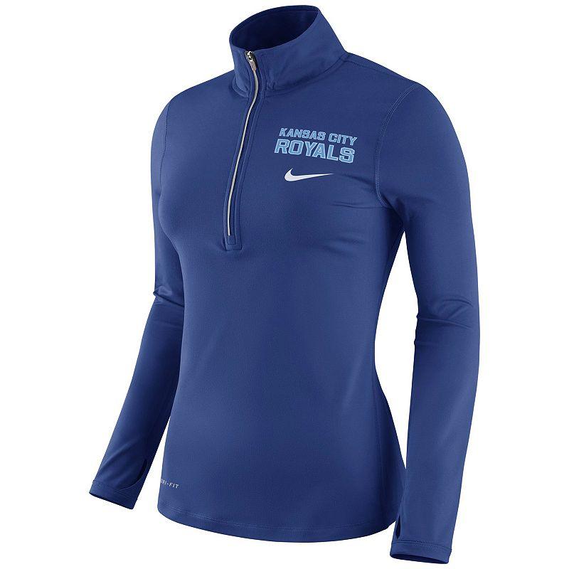 Women's Nike Kansas City Royals Dri-FIT Element Top