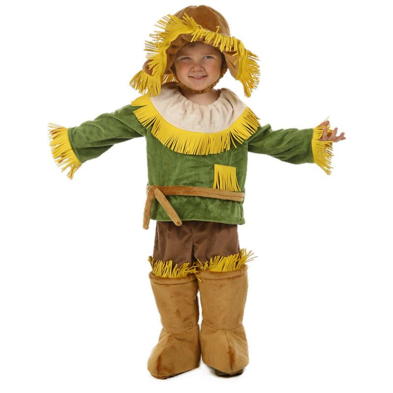 The Wizard of Oz Scarecrow Costume - Baby (Blue)