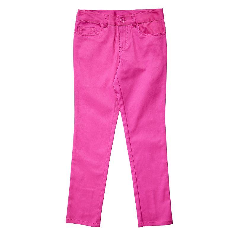French Toast Twill Skinny Pants - Girls 4-6x