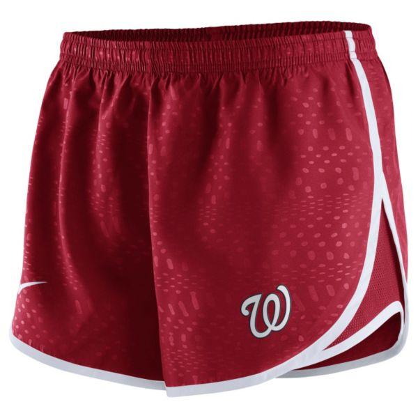 Women's Nike Washington Nationals Modern Tempo Dri-FIT Shorts