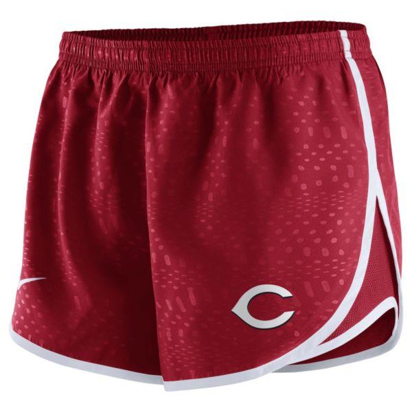 Women's Nike Cincinnati Reds Modern Tempo Dri-FIT Shorts