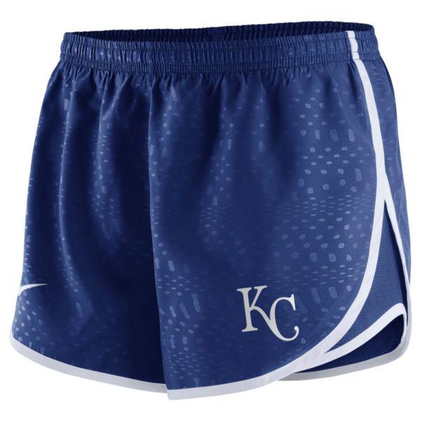 Women's Nike Kansas City Royals Modern Tempo Dri-FIT Shorts