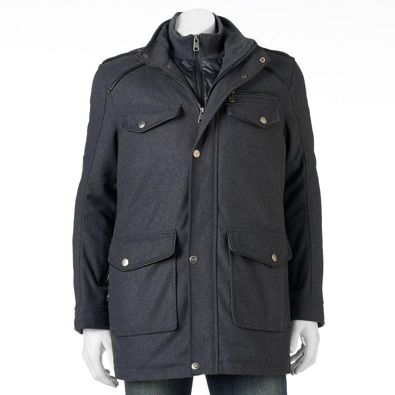 Men's Urban Republic Wool Military Jacket