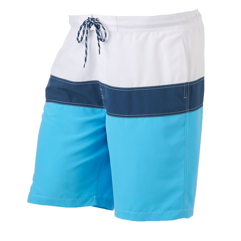 Big & Tall SONOMA Goods for Life™ Colorblock Swim Trunks