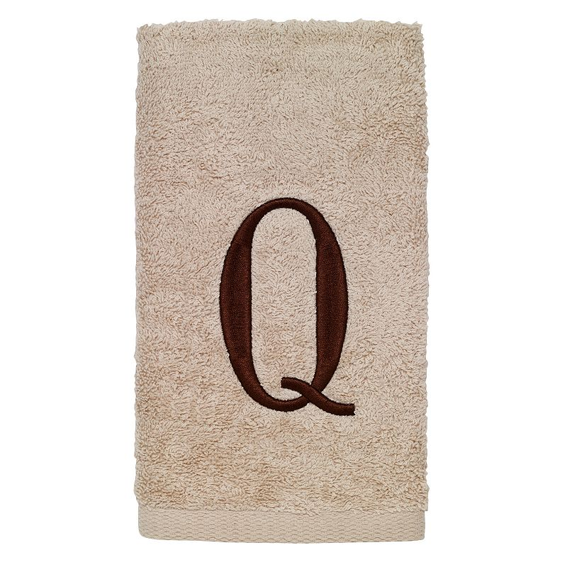 Avanti Embroidered Monogram Bath Towel