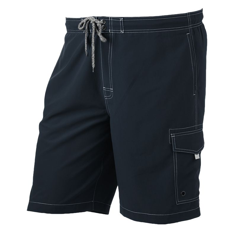 Big & Tall SONOMA Goods for Life™ Solid 9.5-Inch Swim Trunks
